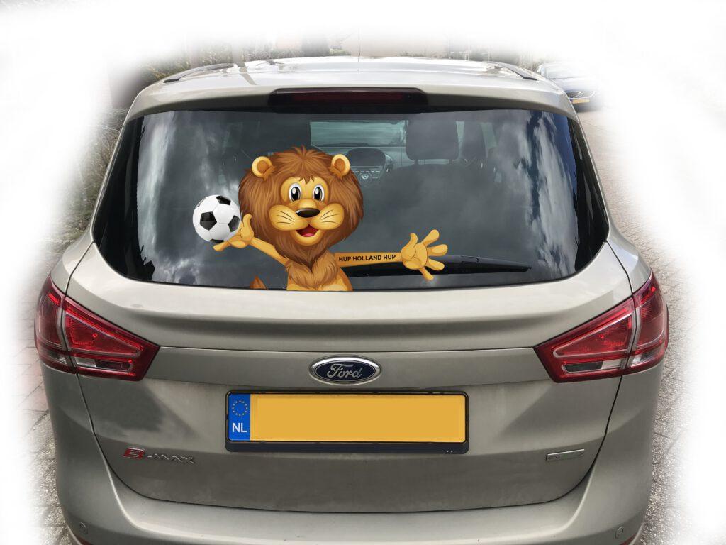 EK 2021 voetbal leeuw - ruitenwisserreclame.nl